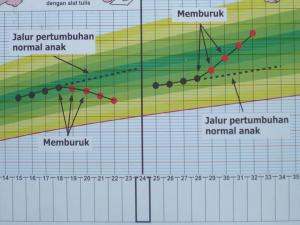 Pola Pertumbuhan Berat Badan Balita