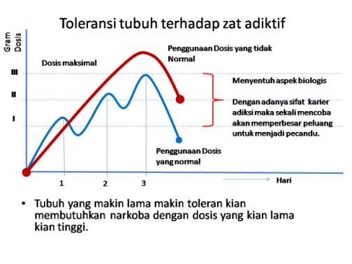 Toleransi tubuh terhadap zat aditif