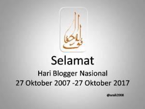Hari Blogger