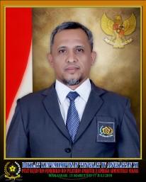 Arsad Rahim ALi, SKM.,MM.Kes. Bekerja di Instansi Sekretariat DPRD Kabupaten Polewali Mandar