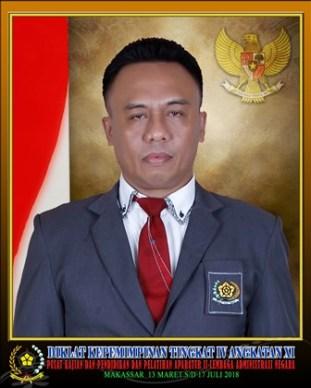 Muhazir Saleh Panti, SKM. Bekerja di Instansi Balai Pengawas Obat dan Makanan di Sofifi, Ternate