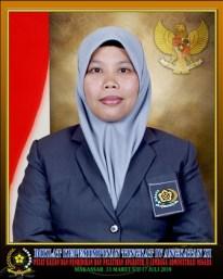 Asdiyani, S.Si.MAP. Bekerja di Instansi Dinas Lingkungan Hidup dan Kebersihan Kabupaten Mamuju