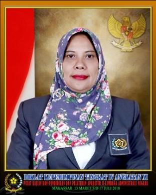 Hj. Misrawati, SP. Bekerja di Instansi DInas Perkebunan Kabupaten Mamuju